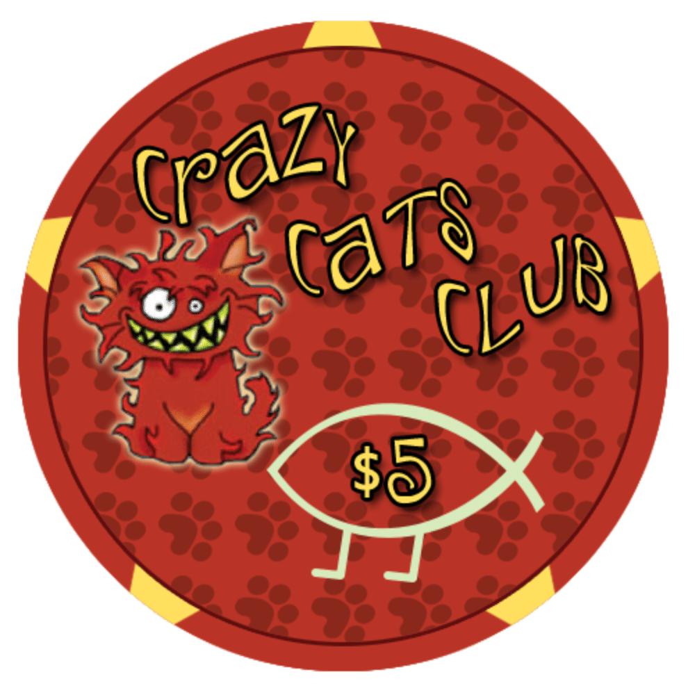 Crazy cats $5
